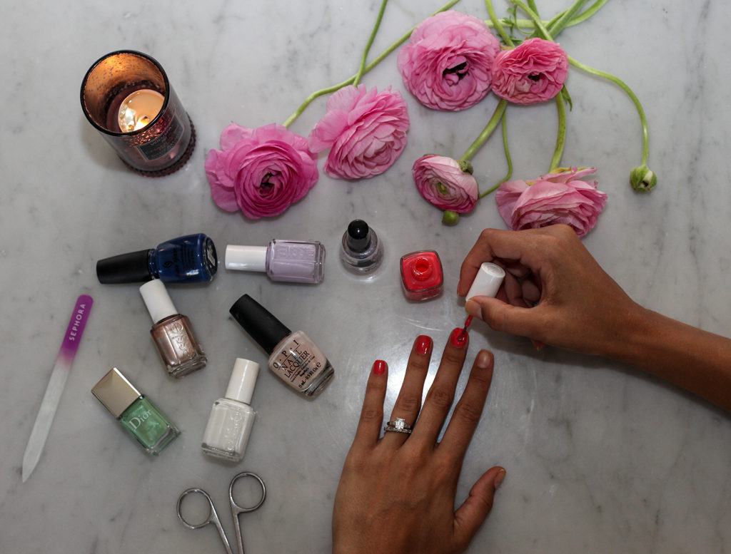 my favorite spring nail polish colors  - loveRavayna - lifestyle with lagniappe